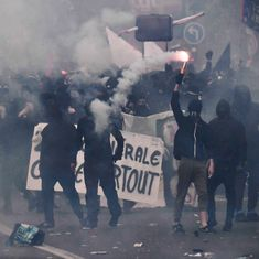 France: 109 people detained for May Day violence in Paris