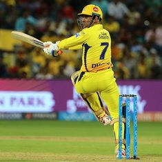 Data check: Three charts that show how MS Dhoni has been a transformed batsman in this IPL