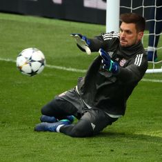 'I cannot explain it': Bayern Munich keeper Ulreich 'sorry' for blunder in Madrid