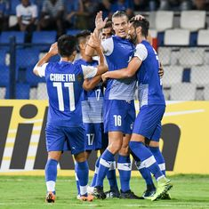 Bengaluru thrash Aizawl to keep AFC Cup knock-out round hopes alive