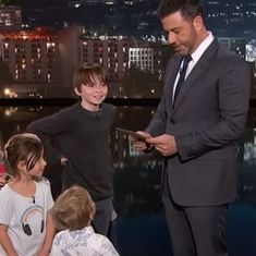 Watch Jimmy Kimmel telling jokes written by children (and they're as funny as it gets)