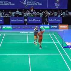 Badminton: Lakshya Sen wins a game before being outclassed by Lin Dan at New Zealand Open