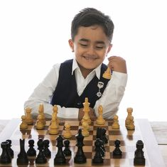 Six-year-old Nivaan Khandadia becomes youngest rated chess player in India