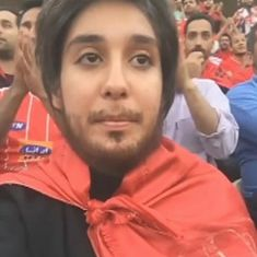 Watch: Iranian women are wearing fake beards and wigs to sneak into male-only sports stadiums