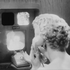 Watch this black and white newsreel featuring one of the world's first video phones – from the 1950s