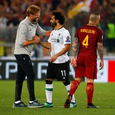 'We are deserved finalists 100%': Klopp salutes Liverpool heroes after thriller in Rome
