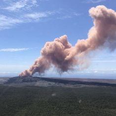 Hawaii: Thousands asked to evacuate as Kilauea volcano erupts
