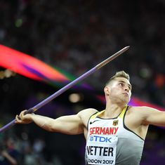 Watch: Reigning javelin throw World Champion Johannes Vetter dissects his technique