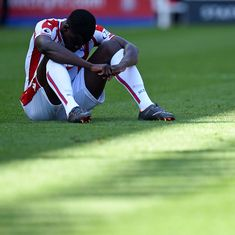 Premier League: Stoke City relegated after a home defeat against Crystal Palace