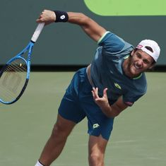 Estoril Open: Joao Sousa defeats Tsitsipas to set up final clash against Frances Tiafoe