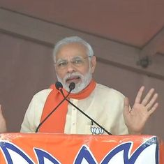 Congress practices vote bank politics, celebrates sultans' birthdays: Narendra Modi in Karnataka