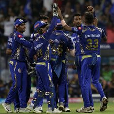 Solid team performance gets Mumbai Indians another win, this time over the Kolkata Knight Riders