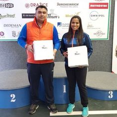 Gagan Narang and Pooja Ghatkar clinch mixed team silver at Czech shooting meet