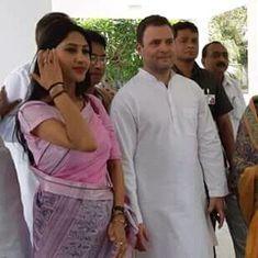 राहुल गांधी मेरे राखी भाई हैं, उनसे शादी की अफवाह फैलाने वाले बाज आएं : अदिति सिंह