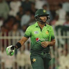 Watch: Pakistan batsman Imam-ul-Haq, nephew of Inzamam, involved in a comical run out