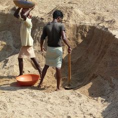 In communally volatile coastal Karnataka, sand mining and politics feed off each other