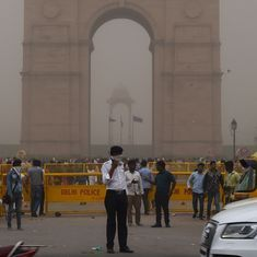 One killed in Delhi as dust storm lashes national Capital again in early hours of Wednesday