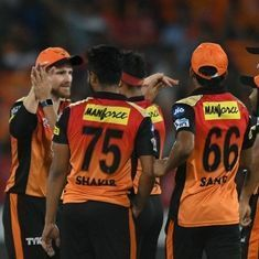 Williamson leads from the front, Bhuvneshwar delivers in the end as SRH defend another low total