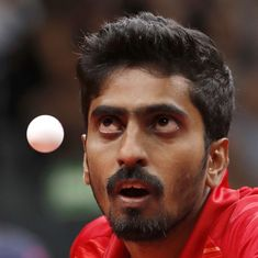 Table tennis World C'ships: Sathiyan last Indian standing in singles as Batra, Sharath lose