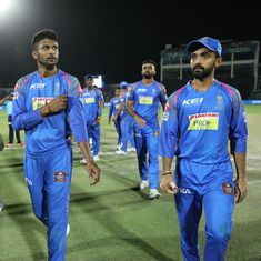 RR show spirit to outclass KXIP but batting experiments, faltering stars have cost team dear