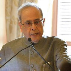 No room in India for intolerant Indians, says Pranab Mukherjee