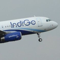 IndiGo aircraft's tyre bursts while landing at Hyderabad airport, passengers evacuated