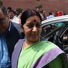Sushma Swaraj takes note after Manipur woman faces racism at Delhi airport's immigration desk