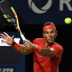 Top seed Nadal not bothered by Djokovic, Federer's absence as he prepares for Rogers Cup defence