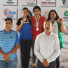 Shreya Gawande clinches 25m Pistol gold, Muskan Bhanwala bags 3 medals at KSS shooting championships