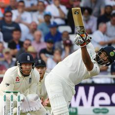 I was nervous, just reacted to the ball: Pant on getting off the mark with a six on Test debut