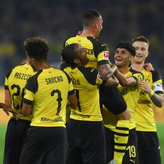 On loan from Barcelona, Paco Alcacer scores on Dortmund debut