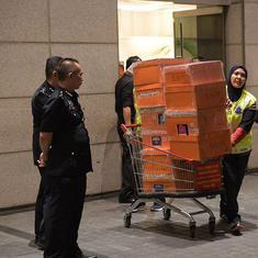 Malaysia: Former PM criticises raids after police seize truckloads of designer bags and jewels