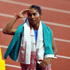 Athletics: Hima Das makes winning return with gold in women's 200m at Indian Grand Prix II