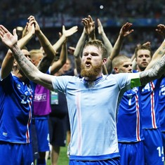 Video: Iceland celebrated their conquest of England with this stunningly terrifying 'Viking Chant'