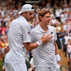 Six hours, 36 minutes: Kevin Anderson outlasts John Isner in second longest Slam match