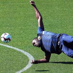 Bolt dreams of Manchester United, while training at Australian side Central Coast Mariners