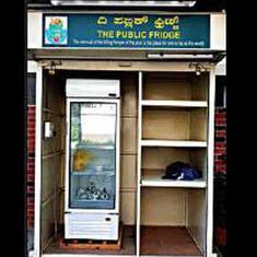 बेंगलुरु के ये सामुदायिक फ्रिज गरीबों और जरूरतमंदों के लिए 'अन्नपूर्णा' का काम कर रहे हैं