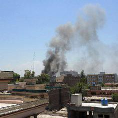 Afghanistan: Gunmen take several hostage after suicide attack at government building in Jalalabad
