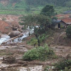Karnataka: Heavy rainfall, landslides hit parts of Kodagu district