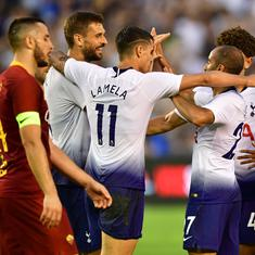 International Champions Cup: Tottenham beat Roma 4-1 as Llorente, Lucas Moura bag braces