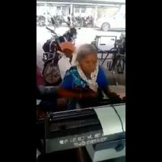 Watch: A 72-year-old woman typist from Madhya Pradesh is inspiring the internet