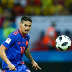 World Cup: James Rodriguez stars in a 3-0 win as Poland are eliminated by scintillating Colombia