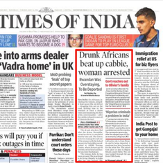 Africa is not a country: How the Indian government and media  have mishandled the racist attacks