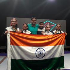 Fencing: India's fencers finish second in Junior and Cadet Commonwealth Fencing Championships