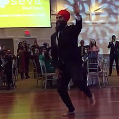Watch: Two future Canadian Prime Ministerial aspirants, both Sikhs, compete in a dance-off
