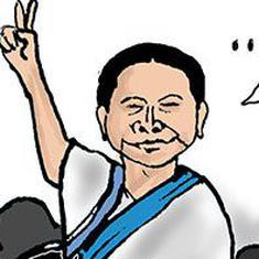 कार्टून : चुनाव तो 'लड़ा' जाता है