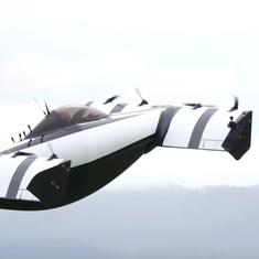 Watch: A start-up just unveiled a 'flying car' that could revolutionise the future of travel