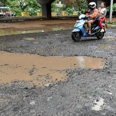 Pothole deaths: MNS workers vandalise Public Works Department office in Navi Mumbai