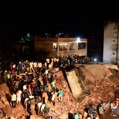 Ahmedabad: One dead, four rescued as two four-storey government buildings collapse in Odhav area