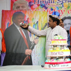Photos: When the Hindu Sena threw a birthday bash for Donald Trump